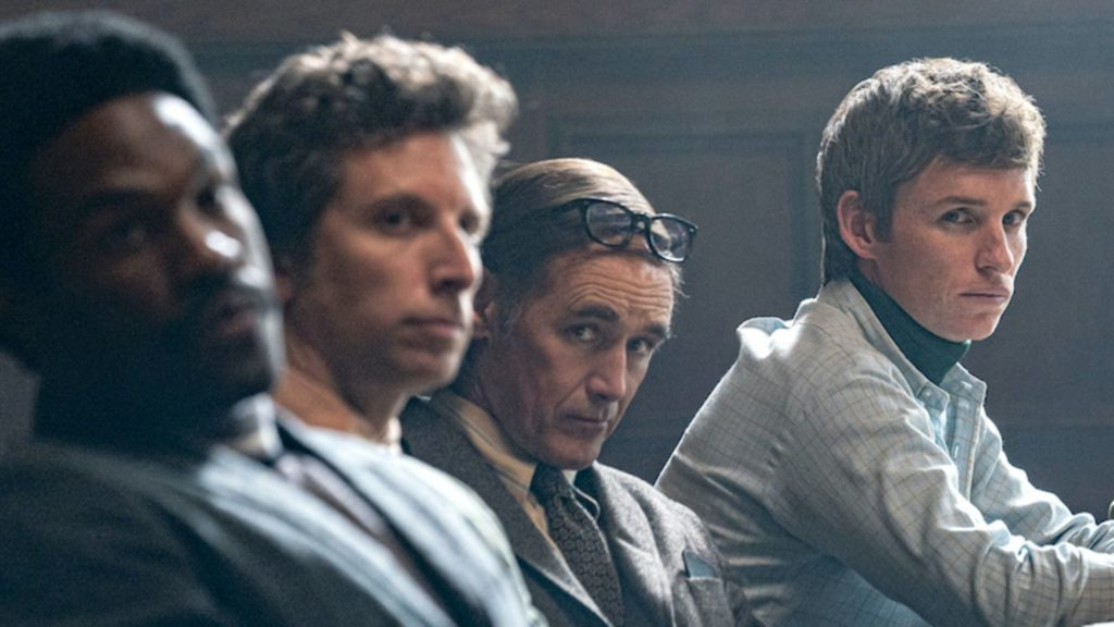 Netflix's The trial of Chicago 7 depicts a sharp diversity of characters.