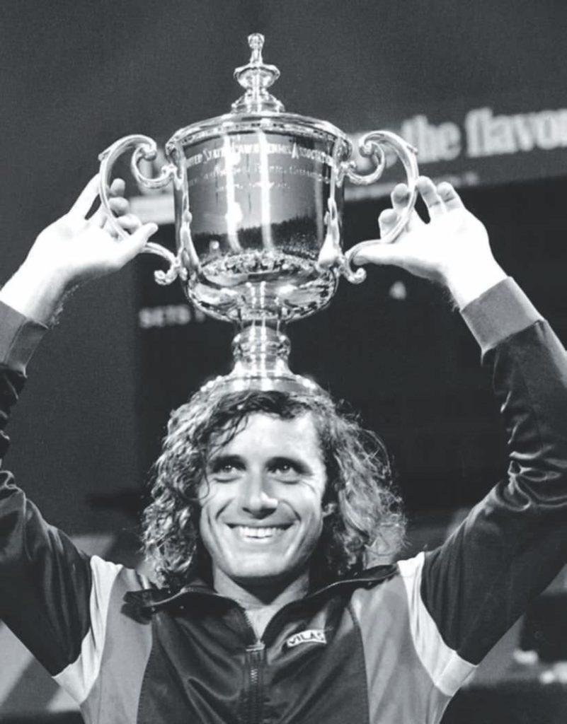 Guillermo Vilas winning the tennis match (Netflix's Documentary Review)