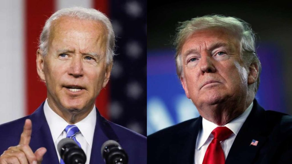 Voters need to decide between Trump and Biden through mail in ballot