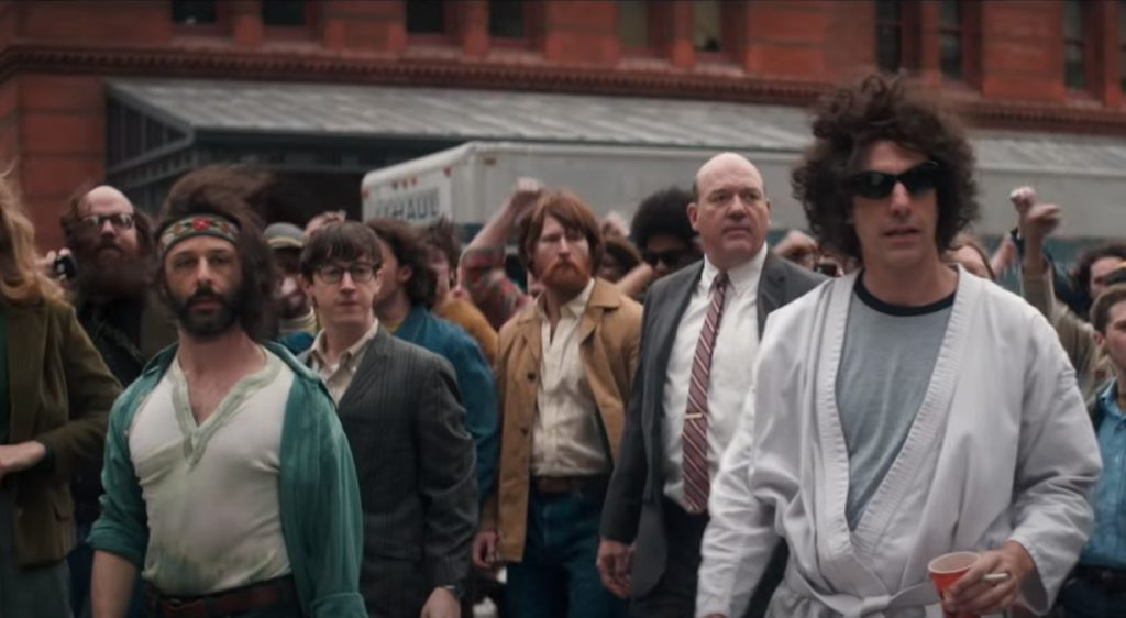 Netflix's The trial of Chicago 7 review includes that the actors have done a brilliant job in the film.