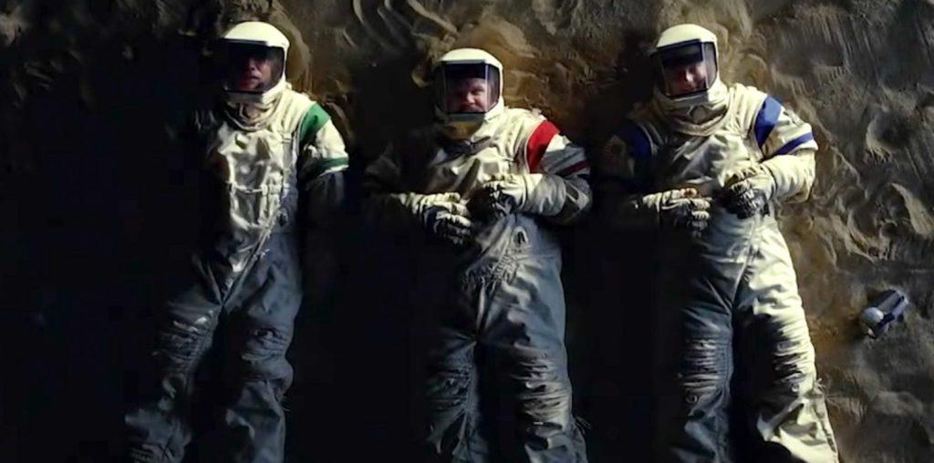 Three NASA astronauts living in Arizona  - Moonbase 8 Review