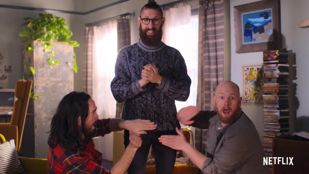 Everything's a drum by Netflix Aunty Donna's Big Old' House Of Fun