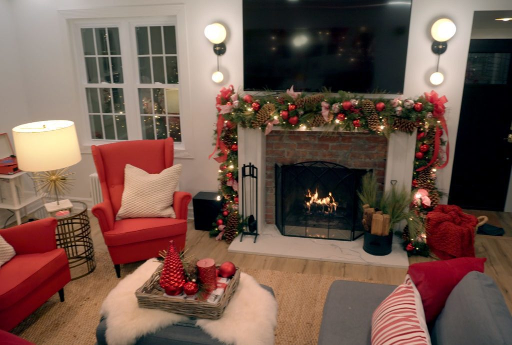 holiday makeover with mr. christmas