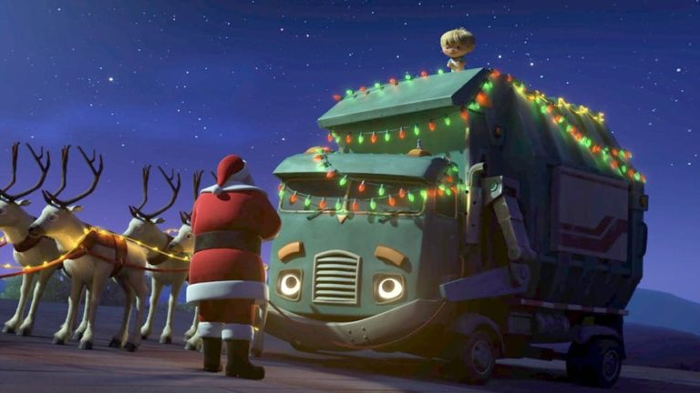 Netflix's A Trash Truck Christmas Review: Keane's Ode to Santa Claus