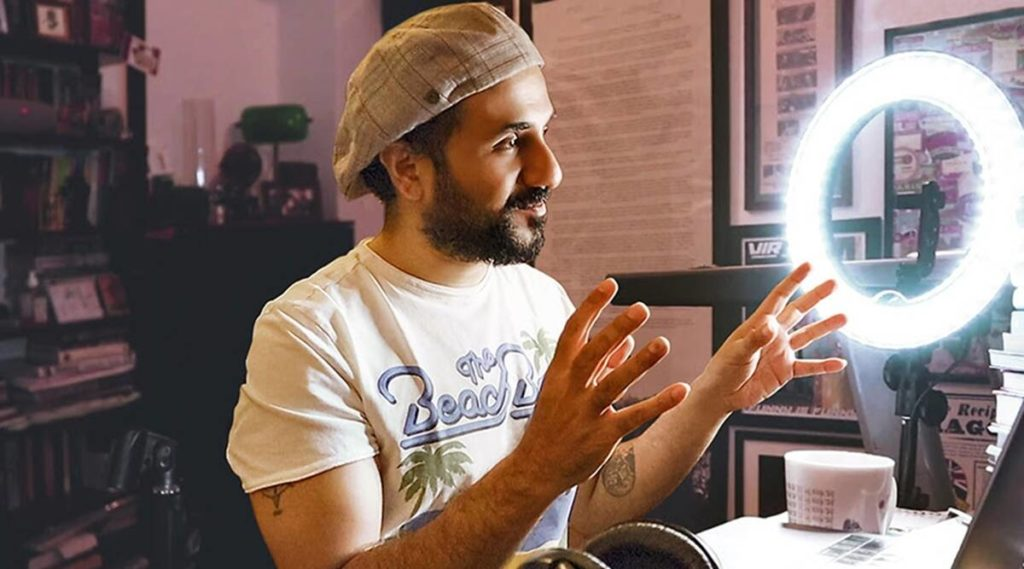 Vir Das Outside In Lockdown
