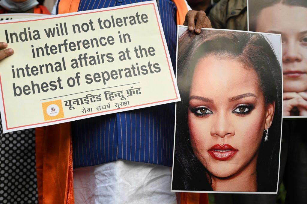 Rihanna, Farmers Protest