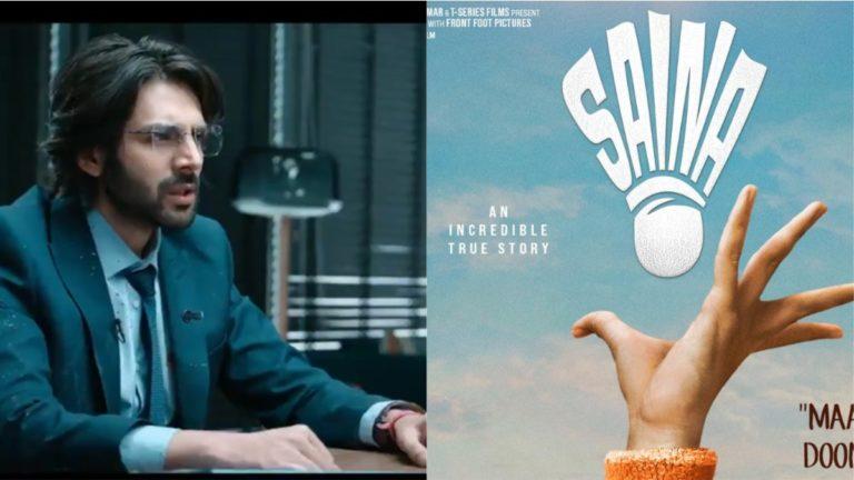 Dhamaka Teaser Ft Kartik Aaryan Out, Parineeti Chopra Reveals Saina's Release Date!