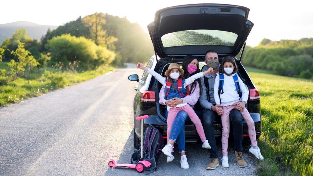 family road trip covid h