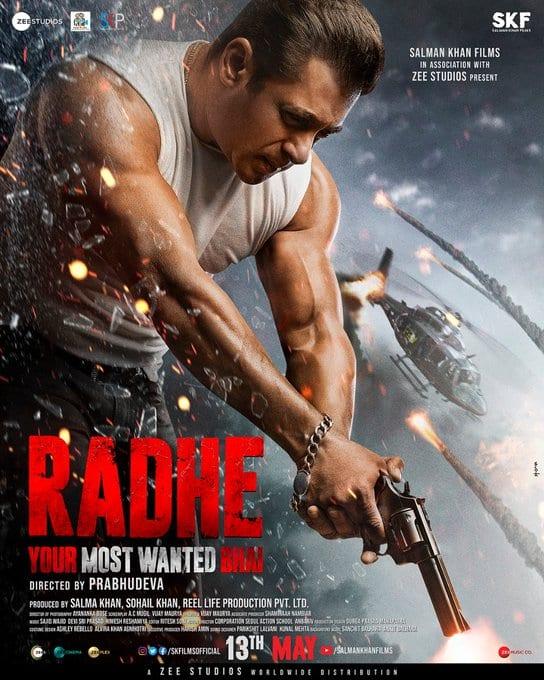 Radhe Poster Salman Khan