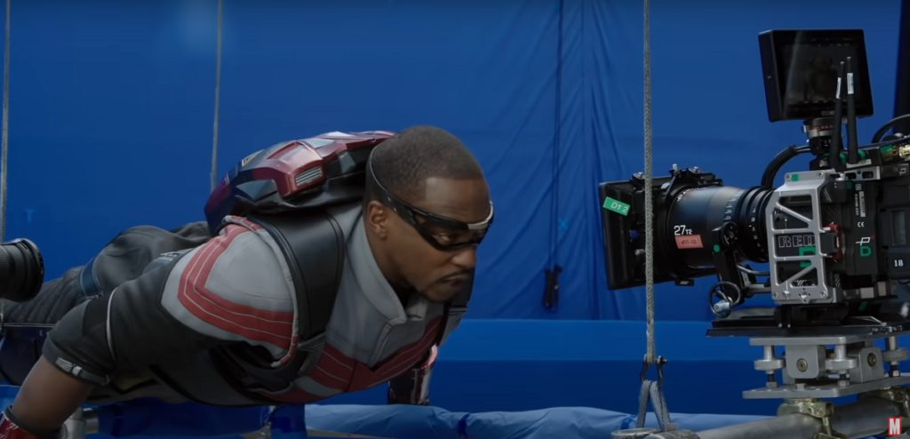 Still from Assembled: The Making of The Falcon and The Winter Soldier