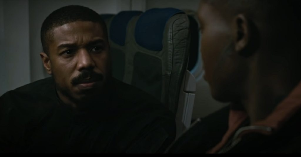 A still ft Michael b Jordan in Without Remorse