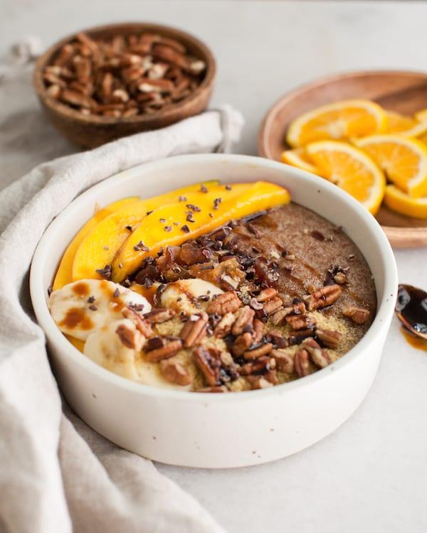 Instant Pot Teff Porridge