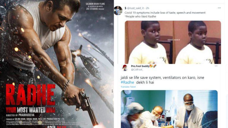 Radhe Twitter Reaction: Netizens Call Salman Khan Starrer Worse Than COVID-19, Ask For Vaccine