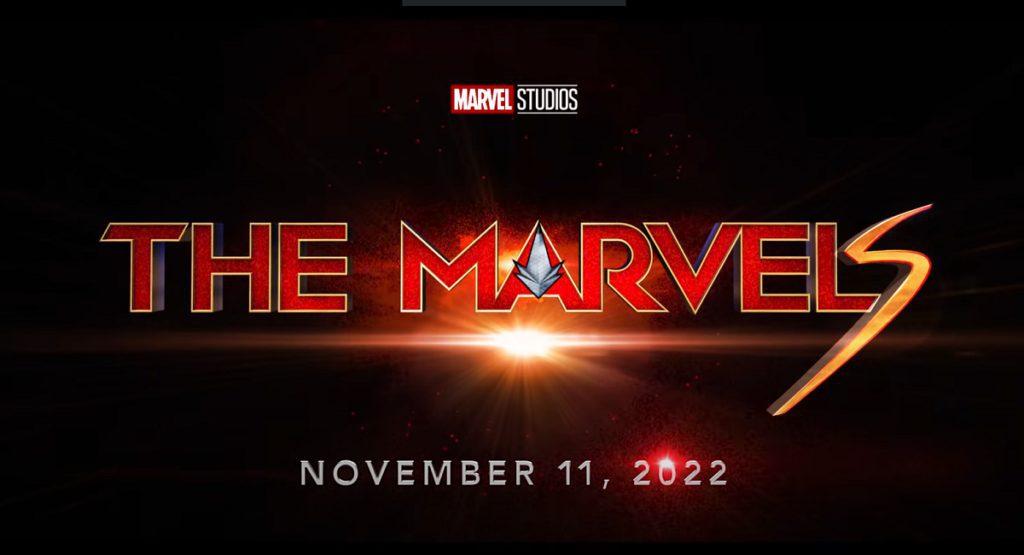 Marvel Studios' The Marvels movie