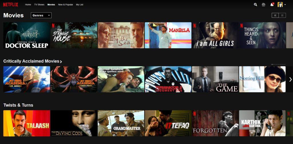 best video streaming services / Netflix