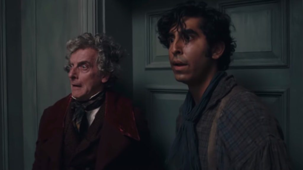 The Personal History of David Copperfield Mr. Micawber and David scene