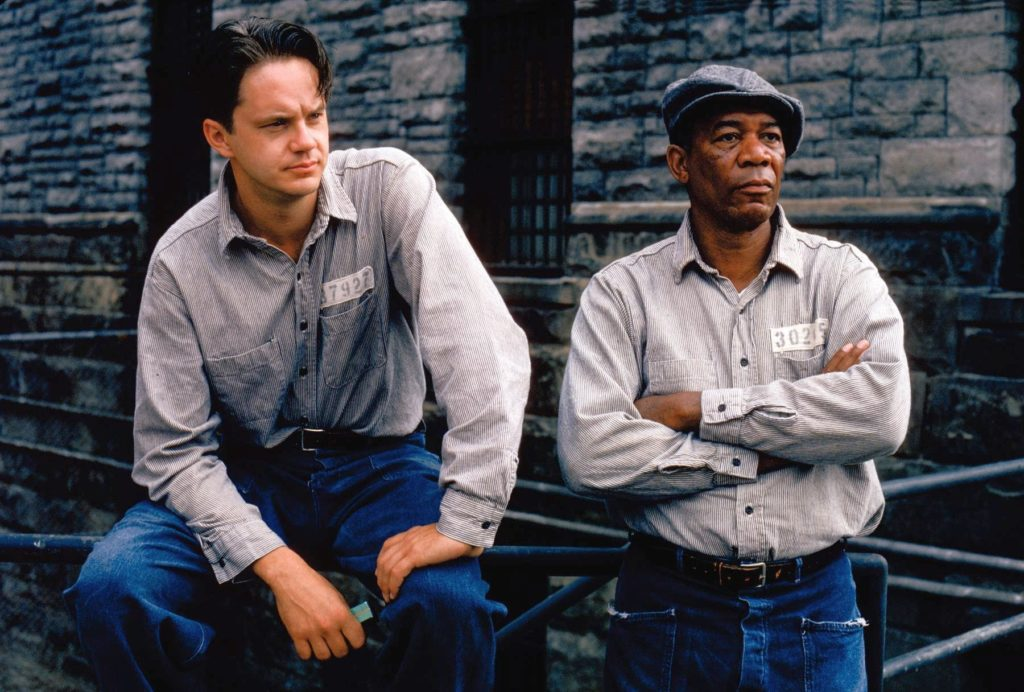 One of the best prison break movies of all time The Shawshank Redemption.