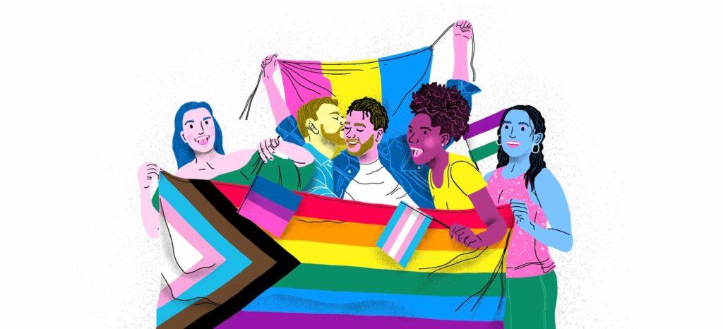 LGBTQ+ Movies / Pride Month/ Pride Flag