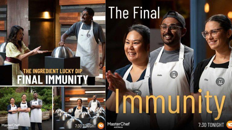 MasterChef Australia Season 13 Episode 54 Review: Last Immunity Goes to…