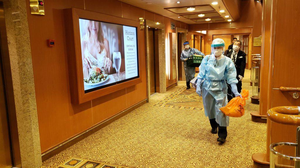 The Last Cruise under quarantine