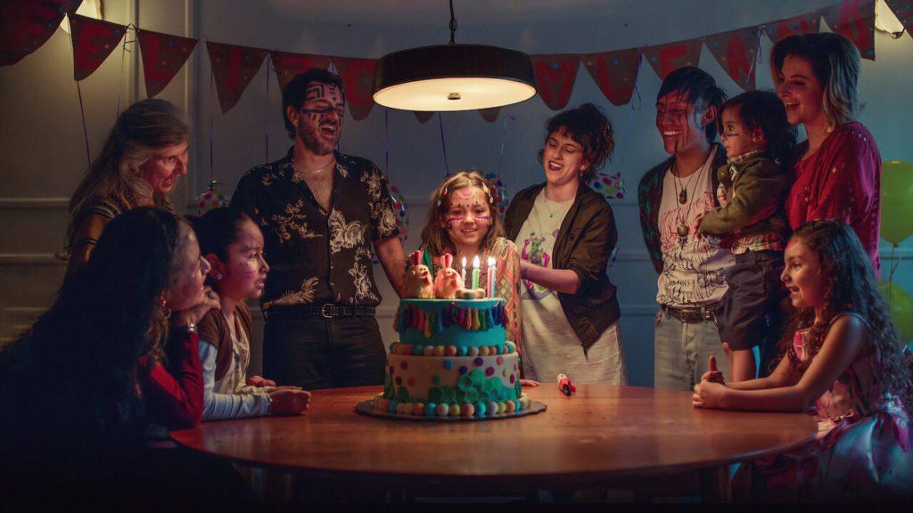 Everything Will Be Fine season 1 Andrea birthday scene