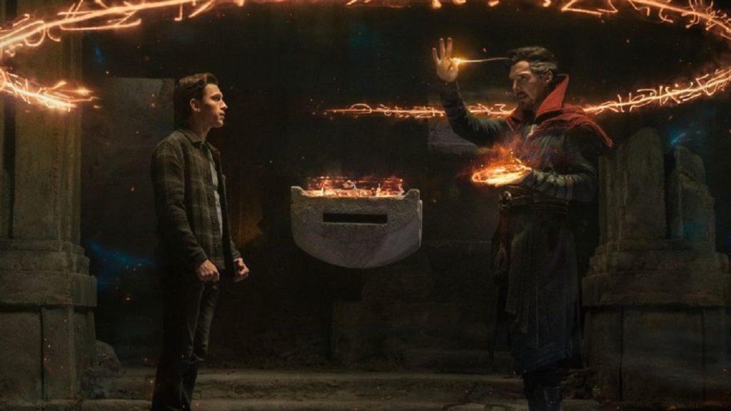 Spider-Man: No Way Home trailer still ft. Tom Holland and Benedict Cumberbatch