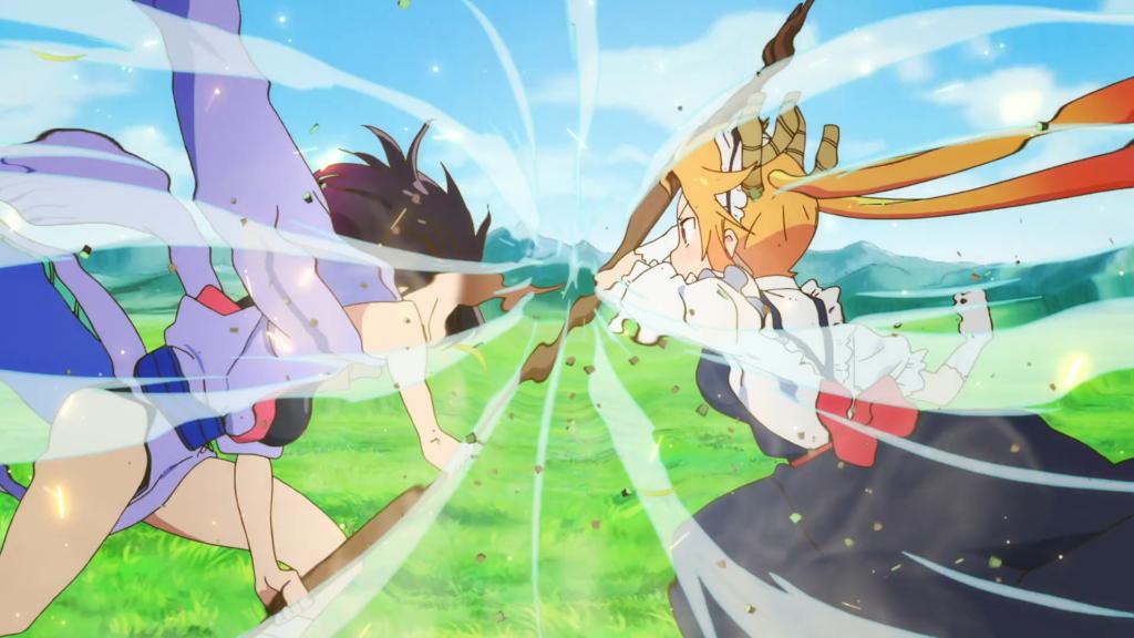 Tohru vs Elma