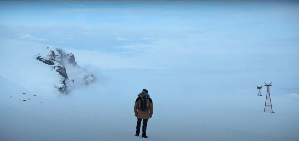 A still from The Father Who Moves Mountains, featuring Adrian Titieni.