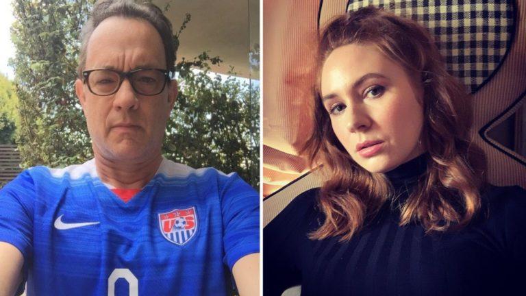 When Tom Hanks Helped Karen Gillan Through A Crisis!