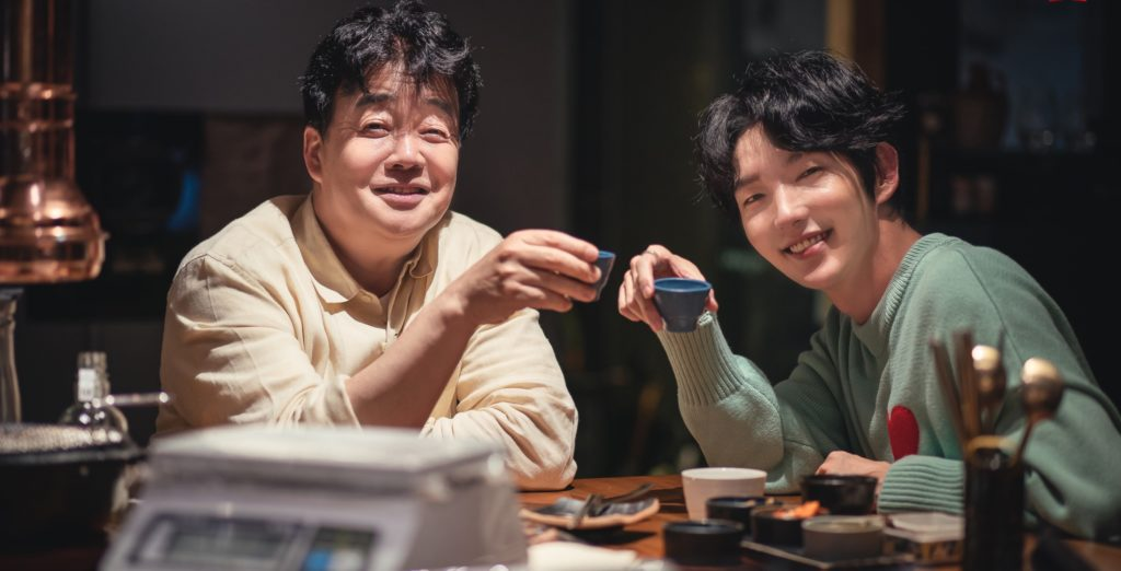 Baek Jong Won with Lee Joon G in Paiks Spirit