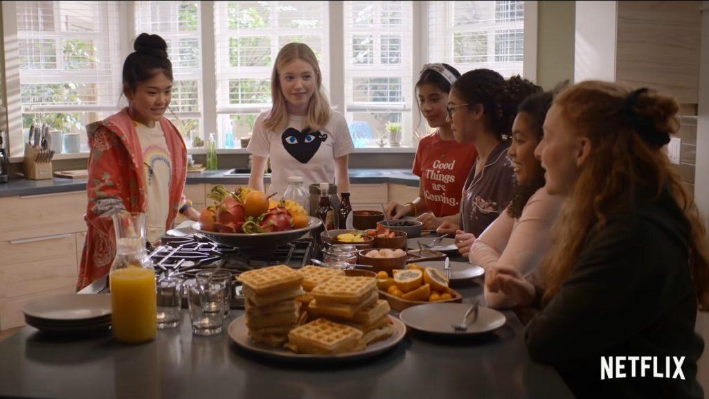 Still from The Babysitters Club Season 2 trailer